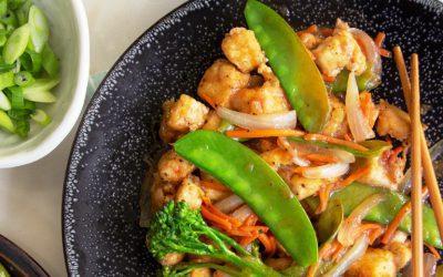 Crispy Tofu Stir Fry – New Zealand Style