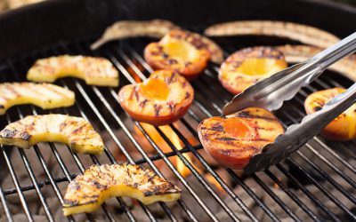 Grilled Fruit with Kentucky Bourbon Rub
