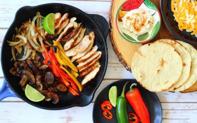 Kentucky Bourbon Chicken Fajitas Recipe