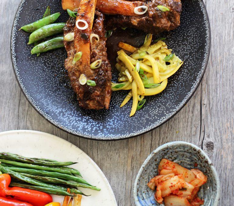 Korean Braised Beef Ribs