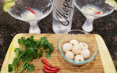Asian Lychee Martini