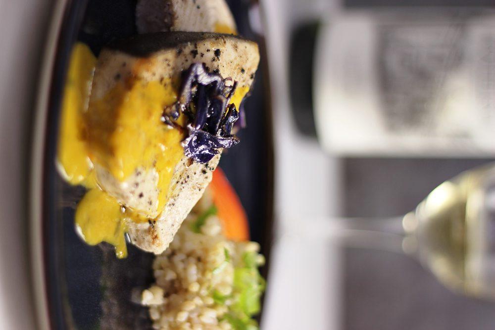 Simple and Elegant Swordfish Recipe with the Serious Foodie Mango/Aji Sauce