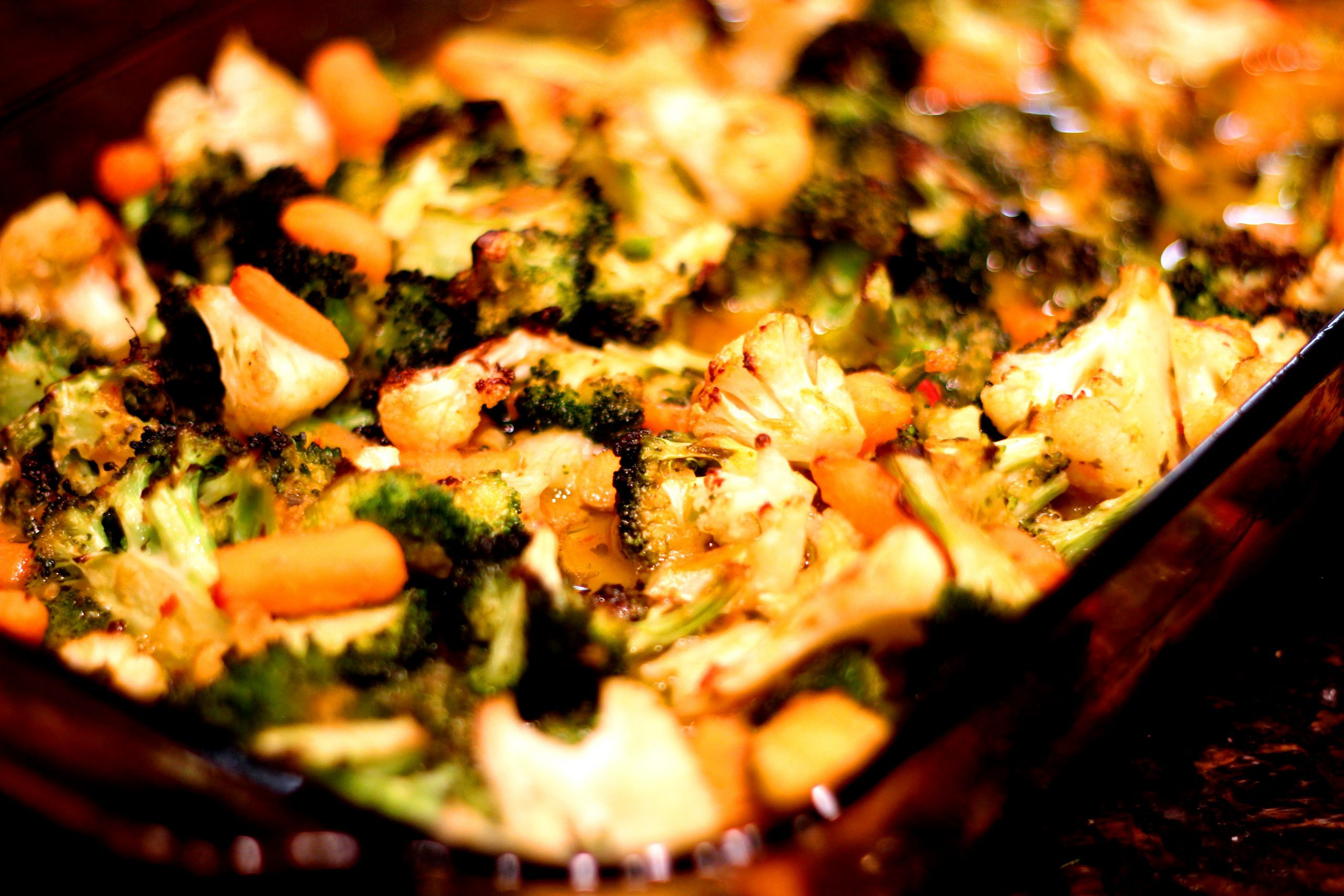 Roasted Vegetables with Peruvian Blood Orange Sauce