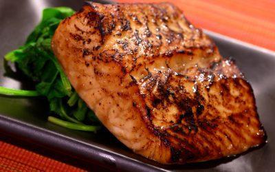 Salmon with Serious Foodie Peruvian Blood Orange Sauce