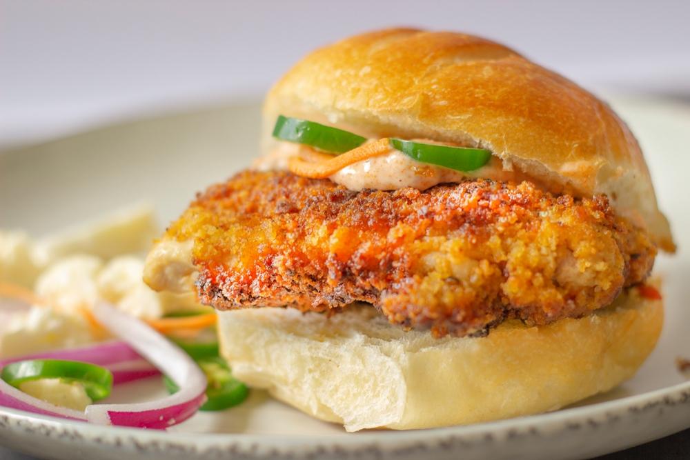 TexMex Fried Chicken Sandwich