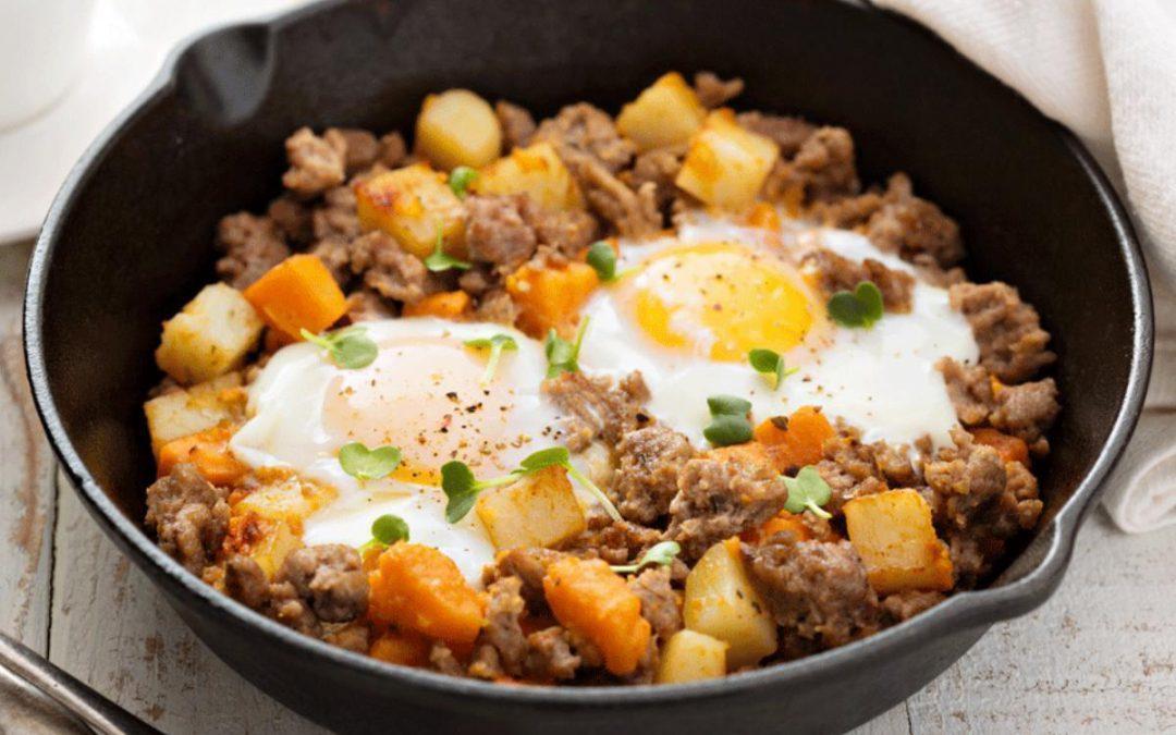 Thanksgiving Leftovers – Turkey or Ham Hash