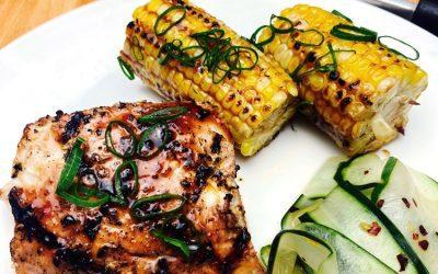 Grill New Zealand Style – Tamarillo Marinated Mahi-Mahi