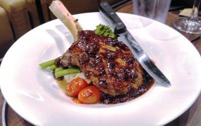 Rib Chop with New Zealand Tamarillo Glaze